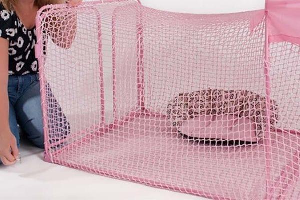 Kritter Kondo Konnector Catio - Pink/Pink