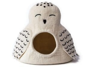 White Owl Pet Nest