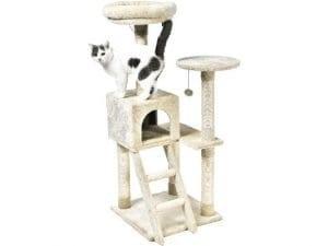 AmazonBasics Cat Tree with Platform, Scratching Posts
