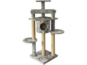 AmazonBasics Cat Tree with Condo and Scratching Posts