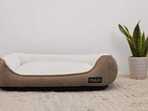 ANWA Durable Square Dog Bed