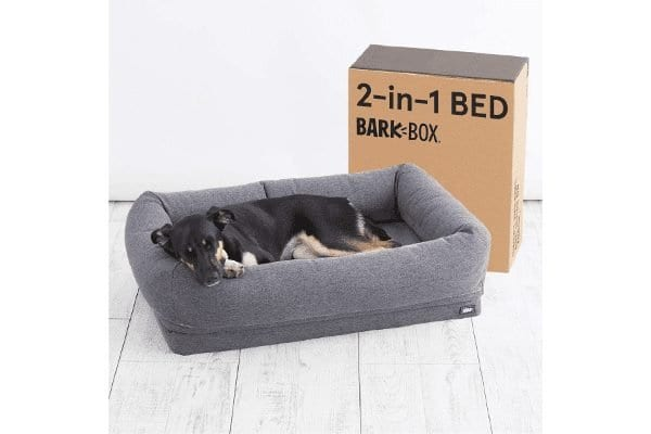 Barkbox 2-in-1 Memory Foam Dog Bed
