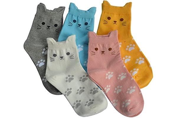 Women's Cute Cat Socks