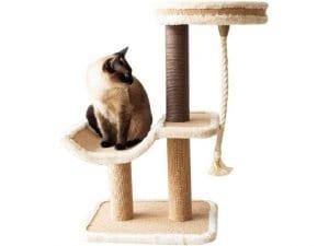 Catry Cat Tree Cradle Bed with Sisal Scratching Posts