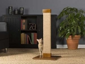 Cats Town Tall Flat Sisal Scratching Post