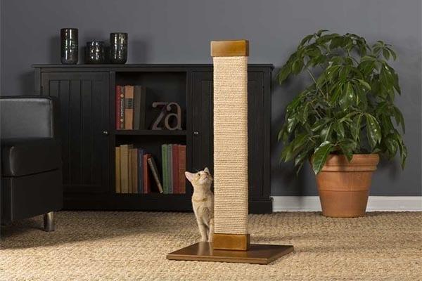 Cats Town Tall Flat Sisal Scratching Post