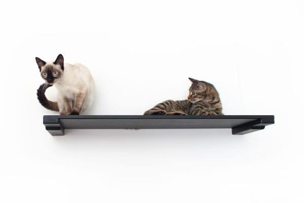 """34"""" Wooden Cat Shelf"""