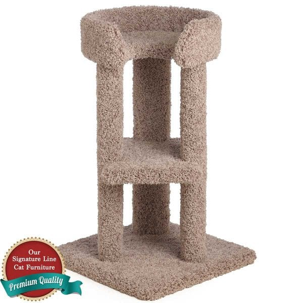 34 Inch Corner Cat Tower