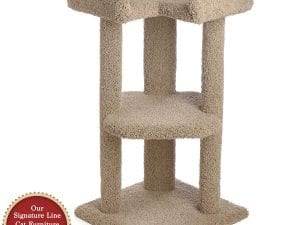 39 Inch Tri-Level Corner Cat Tree