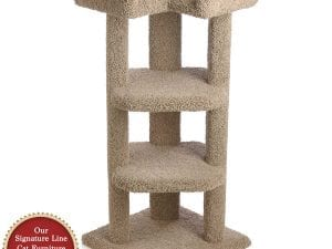 45 Inch Quad-Level Corner Cat Tree