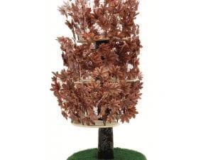 Luxury Cat Tree (Large) - Round Base with Autumn Leaves