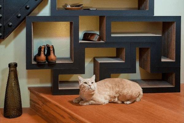 Modular Cat Tree Shelving System