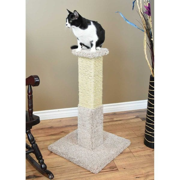 Cat's Choice 34 inch Solid Wood Scratching Post