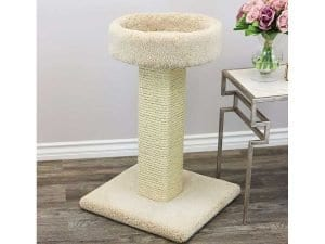 Cat's Choice Solid Wood Large Cat Scratching Post and Sleeper