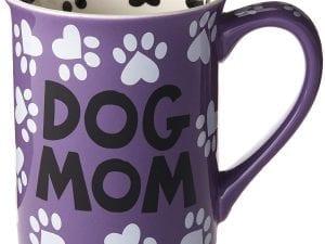 """Dog Mom"" 16 oz. Stoneware Mug"