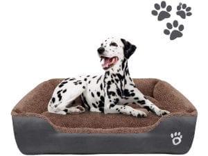 FAREYY Bolster Dog Bed