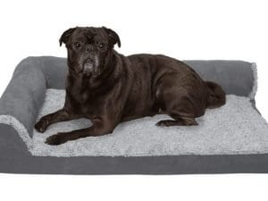Furhaven Therapeutic Sofa-Style Dog Bed