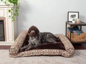 Furhaven Therapeutic Rectangular Foam Mattress Pet Bed