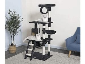 Go Pet Club 62-Inch Cat Tree and Activity Center