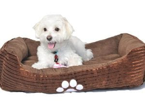Long Rich Reversible Dog Bed