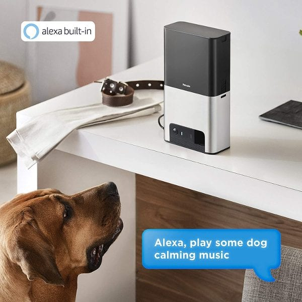 Petcube Bites 2 Wi-Fi Dog Camera w/ Treat Dispenser and Alexa Built-in