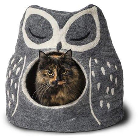 Snow Owl Cat Nest
