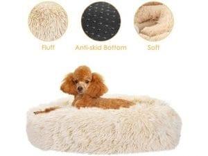 SlowTon Donut Dog Bed