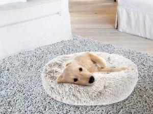 SHU UFANRO Fur Donut Dog Bed