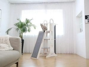 Milo Cat Tree Scratching Tower